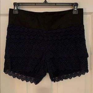 Loft Maternity Lace Shorts